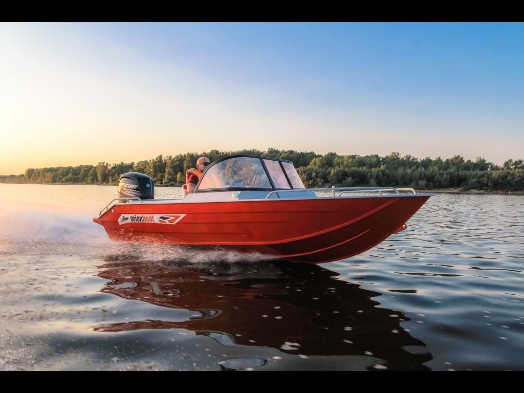 Алюминиевая моторная лодка Orionboat 48Fish (Орионбоат 48 фиш)