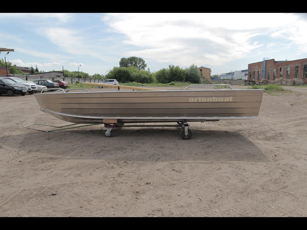 Алюминевая Моторно-гребная лодка Orionboat 43 Р