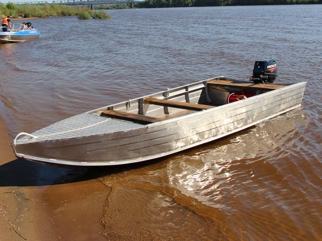 Алюминиевая лодка Orionboat 48 Шило
