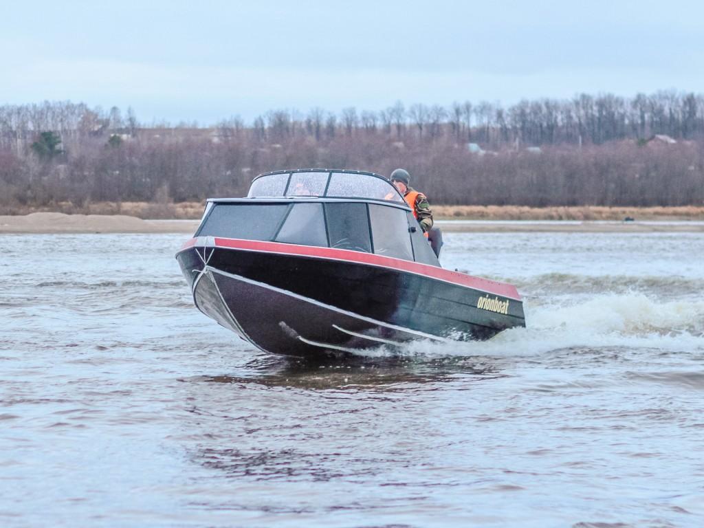 Купить алюминиевую каютную лодку Orionboat 55 (Орионбоат 55)