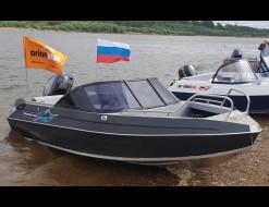 Orionboat 46Д (высокий транец), Mercury 60