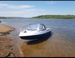 Orionboat 46Д, с мотором Suzuki DF50