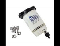 Фильтр топливный 10 мк с отстойником и креплением (малый)