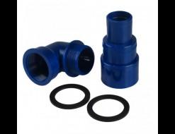 Патрубок заливной горловины бака для подключения топливного шланга д. 38-50-60 мм