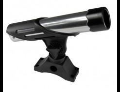 Подставка под удочку черная/серебрянная в комплекте с креплением CFMT101