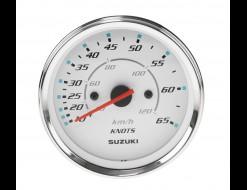 """Спидометр Suzuki 4"""", 120 км/ч, 65 узлов, белый"""