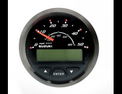 Спидометр Suzuki DF300, 80 км/ч, черный
