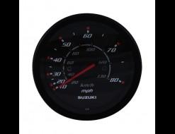 """Спидометр Suzuki 4"""", 130 км/ч, 80 миль, черный"""