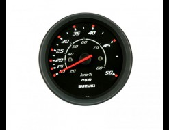 """Спидометр Suzuki 4"""", 80 км/ч, 50 миль, черный"""