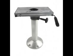Стойка под сиденье COLUMBIA 350 мм с основанием под сидение, диаметр 73мм, основание 230мм