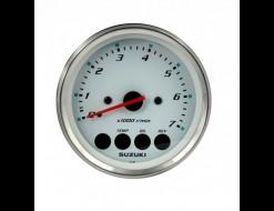 "Тахометр 4"", 7000 об/мин, Suzuki DF25A-250, белый"