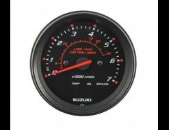 """Тахометр 4"""", 7000 об/мин, Suzuki DF40A-140A/200A, черный"""