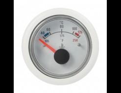 Указатель температуры, 12 В, 40-120 гр., белый