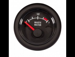 Указатель уровня сточных вод, 12 В, черный