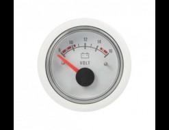 Вольтметр 8-16 В, белый